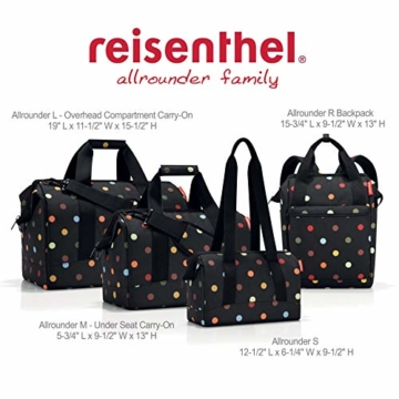 Reisenthel Allrounder Travelling Polyester Reisetaschen, Rot (Russet), 30 L - 3
