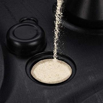 Relaxdays Sonnenschirmständer befüllbar mit Wasser o. Sand, Stockgröße 25-32mm, 44x42 cm, Kunststoff Schirmfuss, schwarz - 2