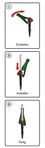 Sonnenschirmständer Vario Drill (für Strand und Wiese) - 3