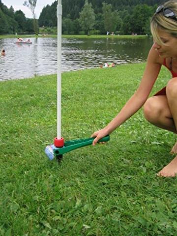 Sonnenschirmständer Vario Drill (für Strand und Wiese) - 5