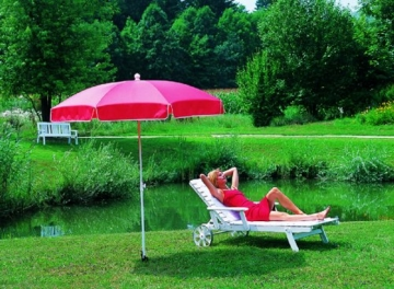 Sonnenschirmständer Vario Drill (für Strand und Wiese) - 8