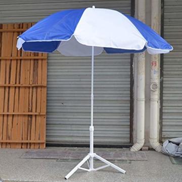 Stahl Sonnenschirmhalter Balkonschirmständer Schirmständer Sonnenschirmständer für 22-25 mm Stangen - 8