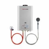 Tankless Gasdurchlauferhitzer, Thermomate BE211S 8L Propangas-Warmwasserbereiter, Sofortige Tragbarer Propangasdusche Warmwasserboiler 16kW für Camping, Wohnmobil… - 1