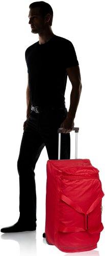 Travelite 2-Rad Trolley Reisetasche, Gepäck Serie ORLANDO: Klassische Weichgepäck Reisetasche mit Rollen im zeitlosen Design, 098481-10, 73 Liter, 2,7 kg, rot - 8