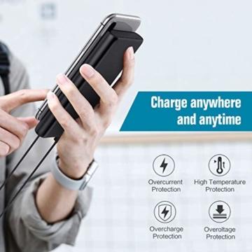 Trswyop Powerbank 25800mAh 【Verbesserte Version LCD Digital Display 100%-0】Hoher Kapazität Power Bank Externer Akku mit 2 USB Output Schnellladung Akku Pack für Smartphones, Tablets und andere Geräte - 5