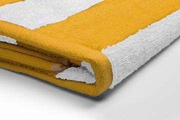 Utopia Towels - 4er Pack XXL Strandtuch Baumwolle Cabana Stripe - 76 x 152 cm, Varietät Pack - 2