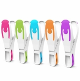 Vilenia Home 50 Stück Premium Wäscheklammern Softgrip - Ideal für Klammerbeutel, Wäscheklammern Korb oder Wäscheständer - Wäscheklammer aus Kunststoff ohne Druckstellen - 1