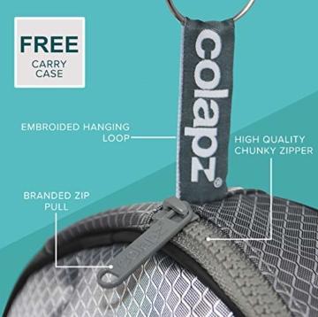 Wiederaufladbare Campingdusche von Colapz – Tragbare Dusche für Hunde – Jet-Wäsche für Fahrräder – Ein Duschkopf, eine Wasserstrahldüse – Transporttasche mit inbegriffen - 2