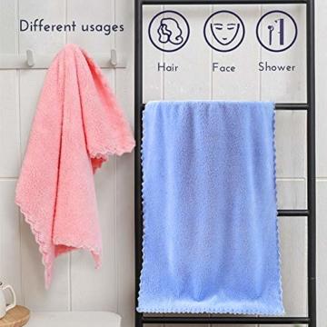 Yoofoss Handtuch 5er Pack 35x75cm Handtücher Set Kleine Frottier Handtücher Farbliche Frottee Leichte Ausbleichsiche Gästhandtücher Handtuch Set Kleine 5 Farben Frottiertücher Towel - 2