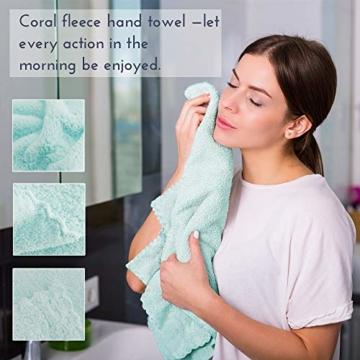 Yoofoss Handtuch 5er Pack 35x75cm Handtücher Set Kleine Frottier Handtücher Farbliche Frottee Leichte Ausbleichsiche Gästhandtücher Handtuch Set Kleine 5 Farben Frottiertücher Towel - 3
