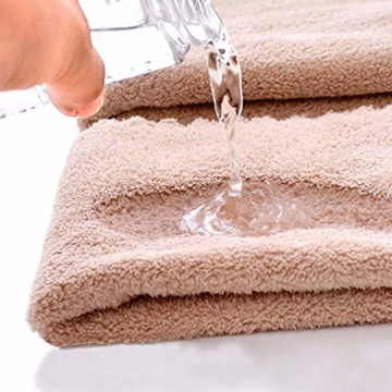 Yoofoss Handtuch 5er Pack 35x75cm Handtücher Set Kleine Frottier Handtücher Farbliche Frottee Leichte Ausbleichsiche Gästhandtücher Handtuch Set Kleine 5 Farben Frottiertücher Towel - 5