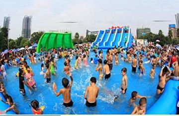 YUHAO(de) Riesiger Inflatierbarer Pool - Familien - Und Kinderinflatierbarer Rechteckiger Pool(10x5x0.6) - 2