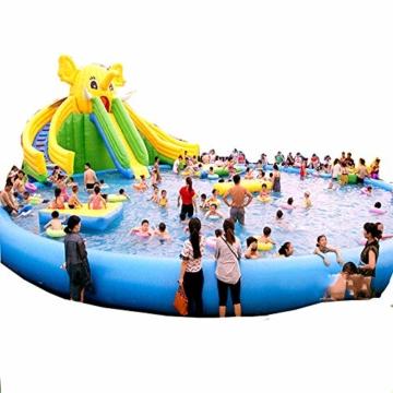 YUHAO(de) Riesiger Inflatierbarer Pool - Familien - Und Kinderinflatierbarer Rechteckiger Pool(10x5x0.6) - 1