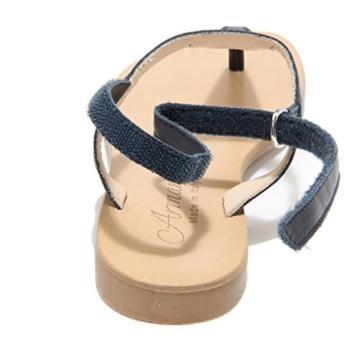 1370L Infradito Sandali Bimba Blu Armani Scarpe ciabatte Flips-Flops Sandals Kids [32] - 3