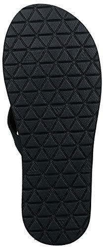 adidas Herren Eezay Flip Flop Gymnastikschuh, Core Schwarz/Ftwr Weiß/Core Schwarz, 46 EU - 2