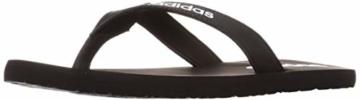 adidas Herren Eezay Flip Flop Gymnastikschuh, Core Schwarz/Ftwr Weiß/Core Schwarz, 46 EU - 6