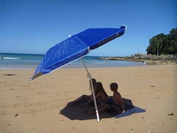 Banz Sun Shade Faltbarer Sonnenschirm Foldabrella, Blau und Silber, 75 x 12 x 12 Zentimeter - 4