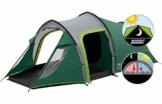 Coleman Chimney Rock 3 Plus Zelt, 3 Personen Tunnelzelt, 3 Mann Camping-Zelt, große abgedunkelte Schlafkabine blockiert bis zu 99% des Tageslichts, wasserdicht WS 4.500 mm - 1