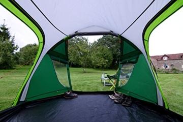 Coleman Chimney Rock 3 Plus Zelt, 3 Personen Tunnelzelt, 3 Mann Camping-Zelt, große abgedunkelte Schlafkabine blockiert bis zu 99% des Tageslichts, wasserdicht WS 4.500 mm - 10