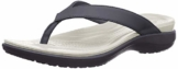 crocs Damen Capri V Flip Flop, Blau (navy/pearl white), 37/38 EU - 1
