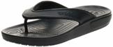 crocs Unisex-Erwachsene Classic II Flip Zehentrenner, Black, 43/44 EU - 1