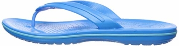 crocs Unisex-Erwachsene Crocband Flip Flop Zehentrenner, Blau (Ocean/Electric Blue), 41/42 EU - 12