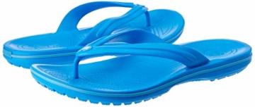 crocs Unisex-Erwachsene Crocband Flip Flop Zehentrenner, Blau (Ocean/Electric Blue), 41/42 EU - 14