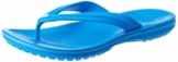 crocs Unisex-Erwachsene Crocband Flip Flop Zehentrenner, Blau (Ocean/Electric Blue), 41/42 EU - 1