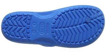 crocs Unisex-Erwachsene Crocband Flip Flop Zehentrenner, Blau (Ocean/Electric Blue), 41/42 EU - 5