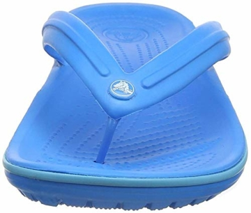 crocs Unisex-Erwachsene Crocband Flip Flop Zehentrenner, Blau (Ocean/Electric Blue), 41/42 EU - 6