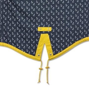 Derbe Damen Regenmantel Travel Anchor Friese gelb blau - 38 - 2
