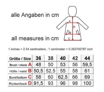 Derbe Damen Regenmantel Travel Anchor Friese gelb blau - 38 - 3