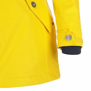 Dry Fashion Damen-Regenmantel Kiel Farbe gelb, Größe 46 - 2