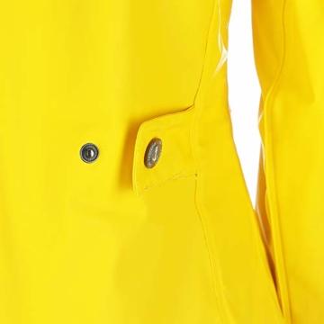 Dry Fashion Damen-Regenmantel Kiel Farbe gelb, Größe 46 - 3
