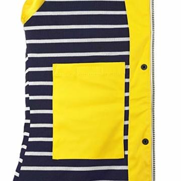 Dry Fashion Damen-Regenmantel Kiel Farbe gelb, Größe 46 - 5