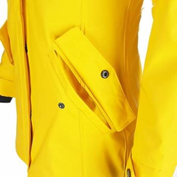 Dry Fashion Damen-Regenmantel Kiel Farbe gelb, Größe 46 - 8