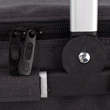 Eono by Amazon - Picknickkorb 22L, isolierter Korb, Kühltasche für den Außenbereich, Dunkelgrau, M - 2