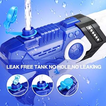 EPCHOO Wasserpistole, 2000ml Groß Water Blaster Water Gun Spielzeug mit 8-10 Meter Reichweite für Party Blaster Badestrand Sommer Pool Wasserschütze Wasserspielzeug - 6