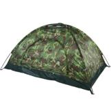 Filfeel Campingzelt, Outdoor Camping Zelt Camouflage 2 Personen UV Schutz wasserdichte Familie Reise Dome Wasserdicht Festival Wandern Klappzelte mit Tragbaren Tragetasche - 1