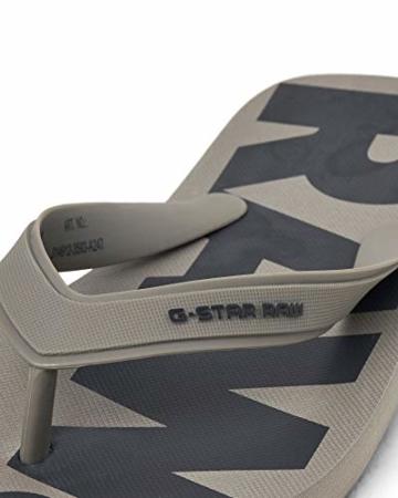 G-STAR RAW Herren Dend Zehentrenner, Mehrfarbig (Grey (Rover/Navy A247) A247), 46/47 EU - 2
