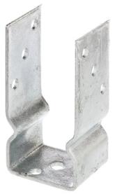 GAH-Alberts 217600 U-Pfostenträger, zum Aufschrauben, feuerverzinkt, lichte Breite: 71 mm - 1