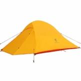 GEERTOP Campingzelt Ultraleichte 2 Personen Doppelten Zelt 3-4 Saison Camping Zelt für Trekking, Outdoor, Festival mit kleinem Packmaß - 1