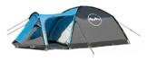 High Colorado Campingzelt Tent Kuppelzelt Zelt OLOKOT 4 Personen dunkelgrau - 1