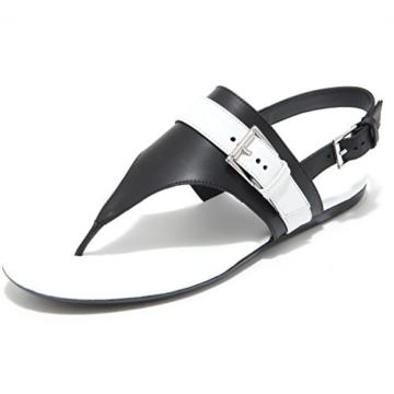 Hogan 7964I Infradito Donna Nero Valencia Scarpe Shoes Flips-Flops Shoes Women [36.5] - 1