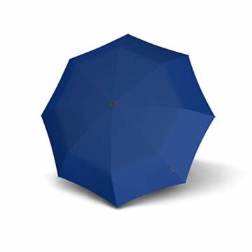 Knirps Taschenschirm A.050 Medium Manual – Kompakt und sturmfest – Stabil – Windproof – Blue - 3