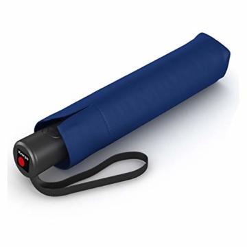 Knirps Taschenschirm A.200 Medium Duomatic – Kompakt und sturmfest – Windkanal getestet – Blue - 1