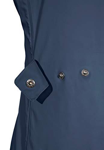 MADSea Damen Regenmantel Friesennerz dunkelblau wasserdicht, Farbe:Navy, Größe:52 - 5