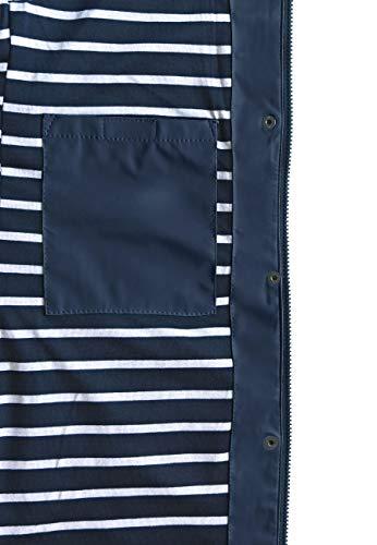 MADSea Damen Regenmantel Friesennerz dunkelblau wasserdicht, Farbe:Navy, Größe:52 - 6