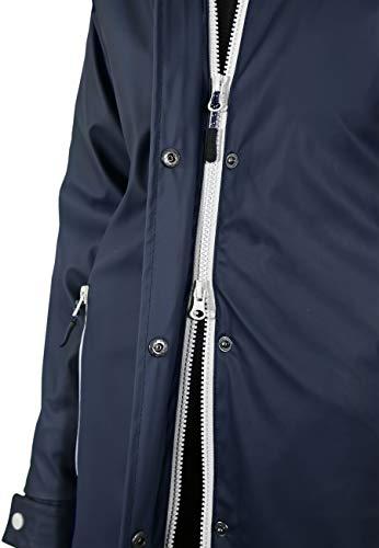 MADSea Damen Regenmantel Friesennerz dunkelblau wasserdicht, Farbe:Navy, Größe:52 - 7