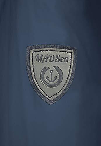 MADSea Damen Regenmantel Friesennerz dunkelblau wasserdicht, Farbe:Navy, Größe:52 - 9